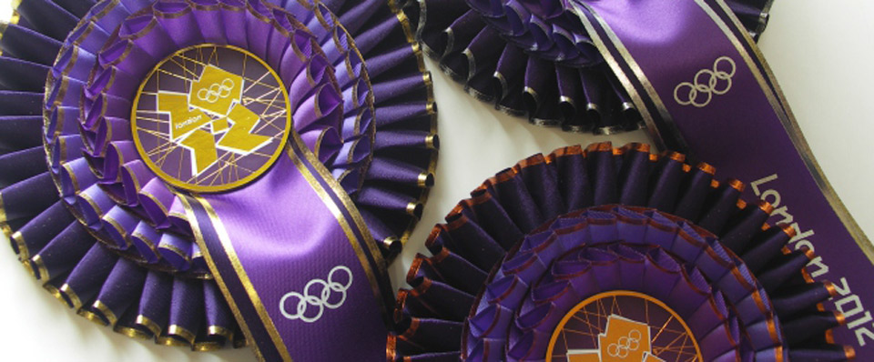 ROSETTES SUPPLIERS TO THE 2012 LONDON GAMES